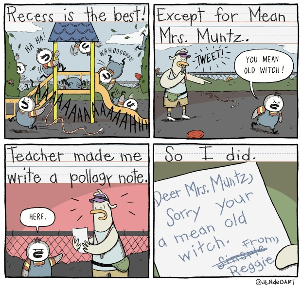 Mrs Muntz comic